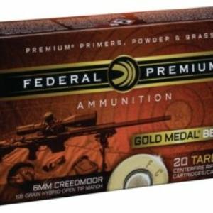 Federal 6mm Creedmoor w/ 105 Bergers #baller
