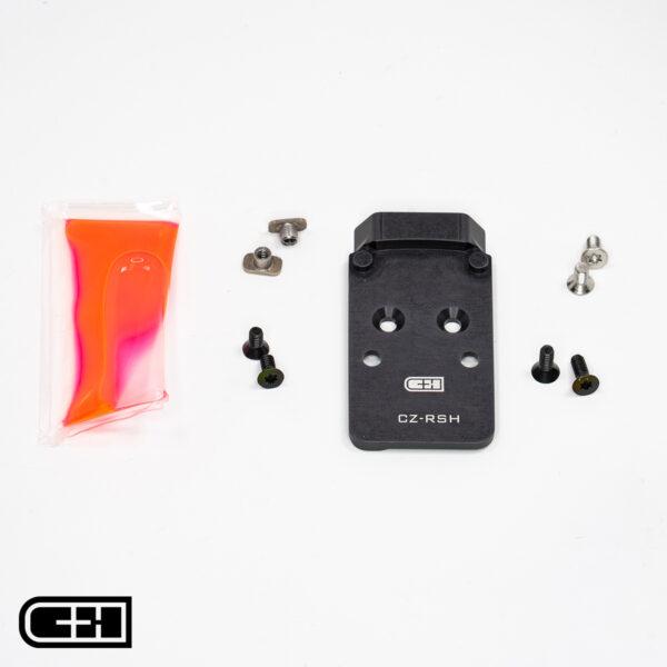 V4 MIL / LEO CZ P-10 RMR / SRO / Holosun 407 / 507 / 508 Adapter Plate