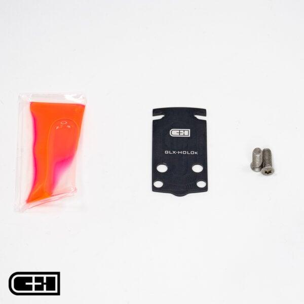 GLOCK 43X / 48 MOS to Holosun 407k / 507k Adapter Plate