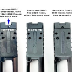 STACCATO 2011® DUO™ UPGRADE 8-32 Hole